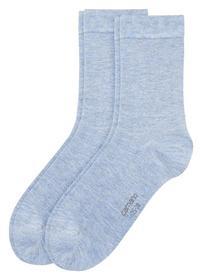 Women Socks Silky 2p - 0099/stone melange