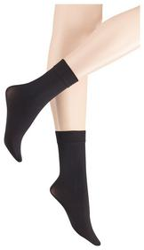 True Matt 40 DEN Socks 1p, black