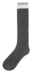 Fashion Wool Mix Socks 1p - 9300/light grey melang