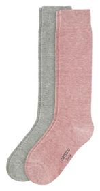 CA-Soft Ki-Kneehigh 2p - 4300/chalk pink melange