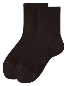 Women Basic Cotton Socks 2p