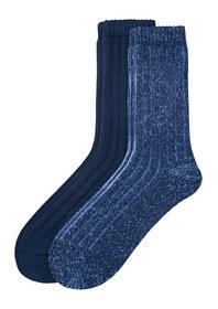 Rippstrick-Socken
