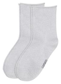 Woman fashion Socks 2P - 1000/white