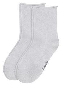 Woman fashion Socks 2P - 1000/white