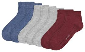 CA-SOFT women socks 2p - 1800/taupe grey melange
