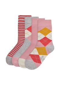 Junior Fashion Socks 4p