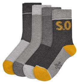 Children fashion socks 2p - 5801/blue