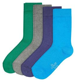 Junior Basic Socks 4p