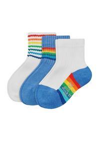 Baby Fashion Socks 3p - 5454/parisian blue