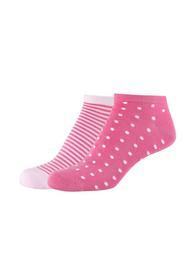 Women silky feeling Sneakers 2p