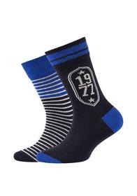 Children ca-soft organic cotton boys Socks 2p