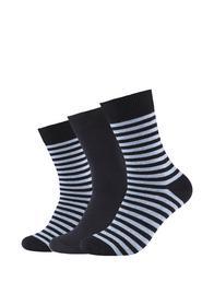 Men comfort stripes Socks 3p