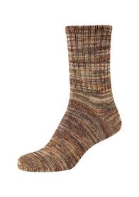 Unisex silky touch mouline Socks 1p
