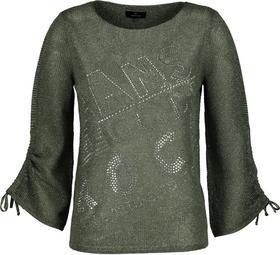 Pullover mit Ajourstrickmuster