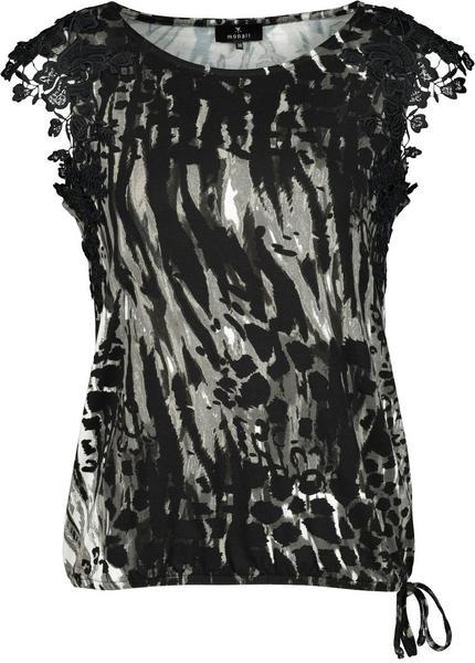 Shirt - 871/carbon gemustert
