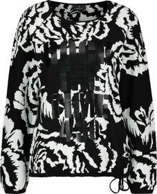 Pullover off-white gemustert