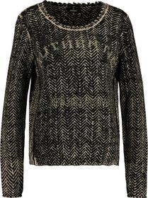 Pullover erdnuss gemustert