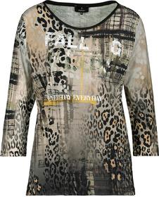 Shirt - 162/erdnuss gemustert