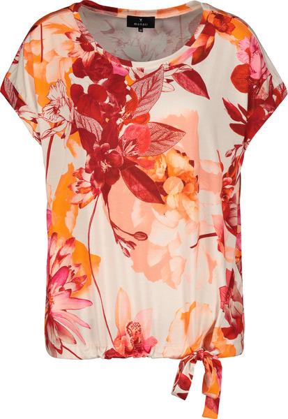 Shirt - 282/orange gemustert
