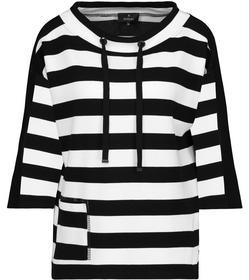 Pullover, schwarz Ringel