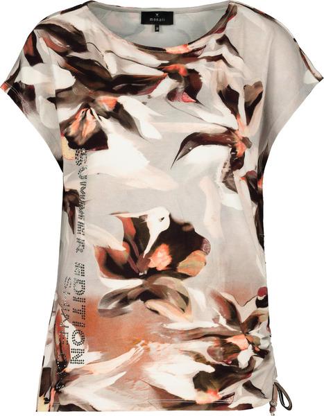 Shirt - 128/stein gemustert
