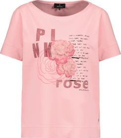 Shirt, pink rose