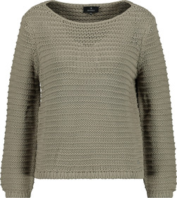 Pullover, dusty green