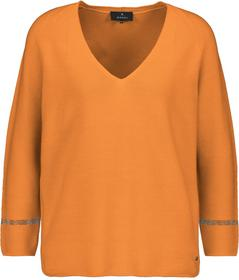 Pullover, orange