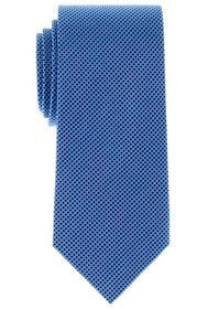 ETERNA Krawatte hellblau kariert