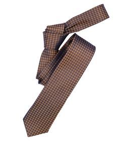 Venti Krawatte Einheitsgröße - Gelb - kariert - 100% Seide