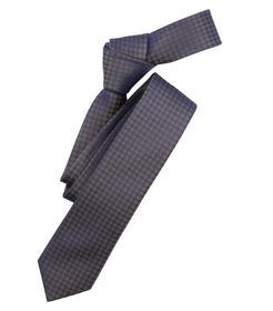 Venti Krawatte Einheitsgröße - Olive - kariert - 100% Seide