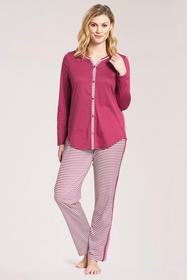 Py, 1/1 sleeve, pants 1/1, button-t
