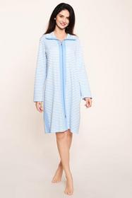 Robe, 1/1 sleeve, zipper, pockets,