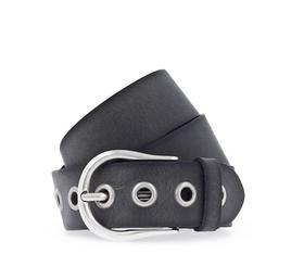 40 mm Leder-Nietgürtel