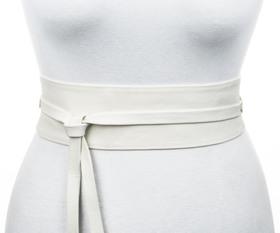 70 mm Taillen-Vollledergürtel