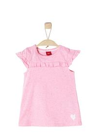 KLEID KURZ, light pink melange