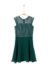KLEID KURZ - 7695/dark green