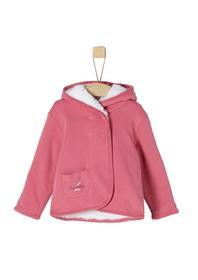 SWEATSHIRT-JACKE - 4365/pink