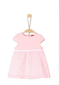 KLEID KURZ - 41A1/light rose AOP