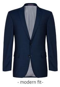 Sakko/jacket K-AMF-Shane SS - 63/blau dunkel