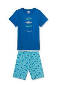 Pyjama Short - 50181/ocean blue