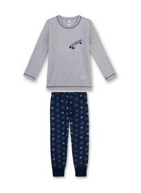 Pyjama long - 1646/hellgrau m