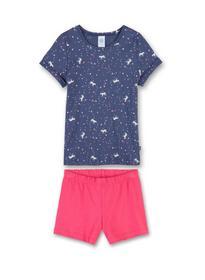 Pyjama Short - 50020/blue indig