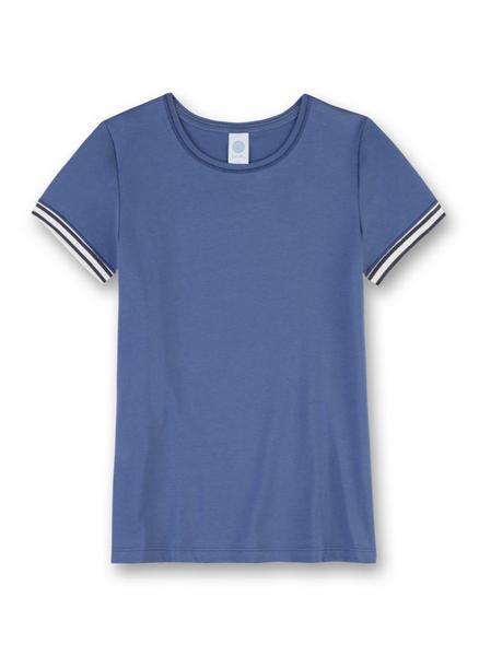 M San Athleisure Blue Shirt