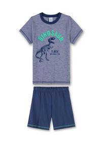 Pyjama short - 50110/washed blu