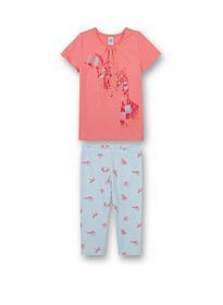 Pyjama short - 3937/coral ligh