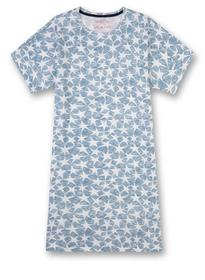 Sleepshirt short allover - 50301/coronet bl