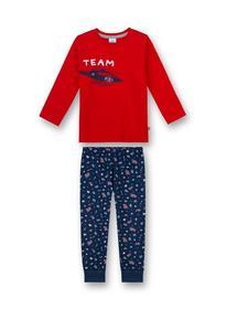Pyjama long - 3480/rouge