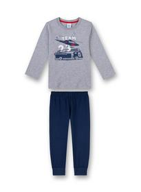 Pyjama long - 1737/grey mel.