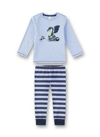 Pyjama long - 50252/oxford mel